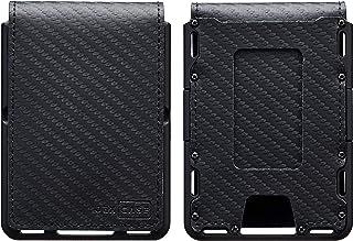 JEXICASE Dapper EDC Wallet - Genuine Leather, CNC-Machined Aluminum, RFID Blocking