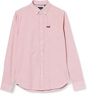 Superdry LS Classic University Oxford Camisa para Hombre