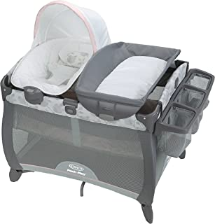 Graco Pack 'n Play Playard | Includes Deluxe Portable Napper, Full-Size Infant Bassinet, and Diaper Changer, Diana