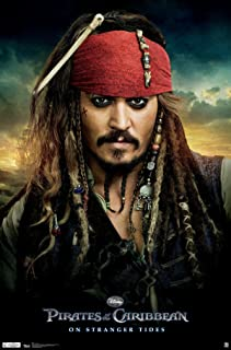 "Trends International Pirates of The Carribbean 4 One Sheet Wall Poster 22.375"" x 34"""