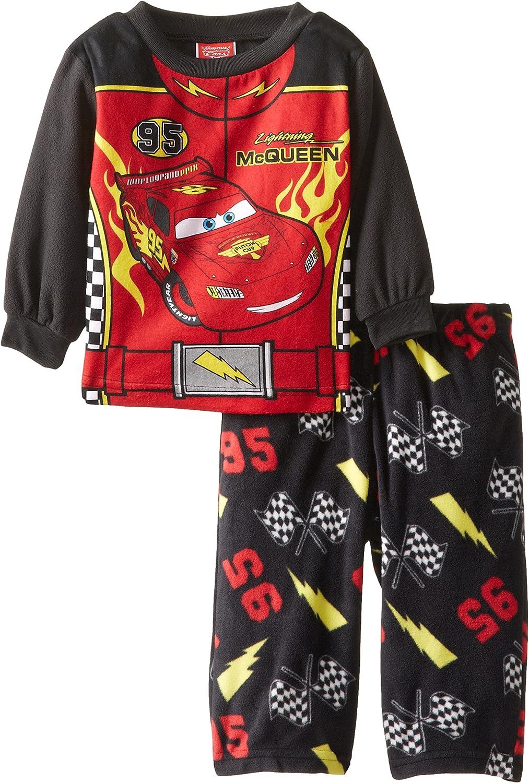 Cars Baby Boys' Microfleece 2 Piece Pajama Set