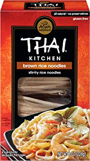 Thai Kitchen Gluten Free Brown Rice Noodles, 8 oz