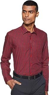 John Miller Men's Solid Regular fit Formal Shirt