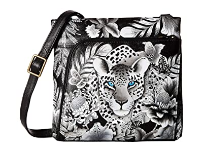 Anuschka Crossbody with Front RFID Built in Wallet 651
