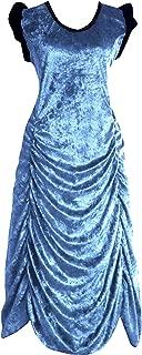 Victorian Valentine Steampunk Gothic Vintage Era Women's Dress Light Blue