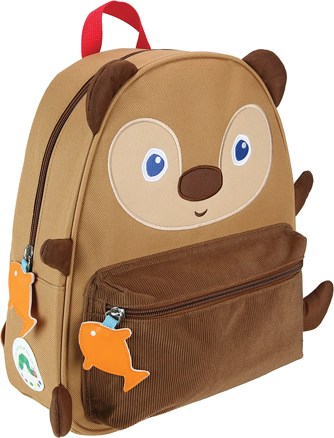 World of Eric Carle, The Very Hungry Caterpillar Brown Bear Backpack Canvas Toy