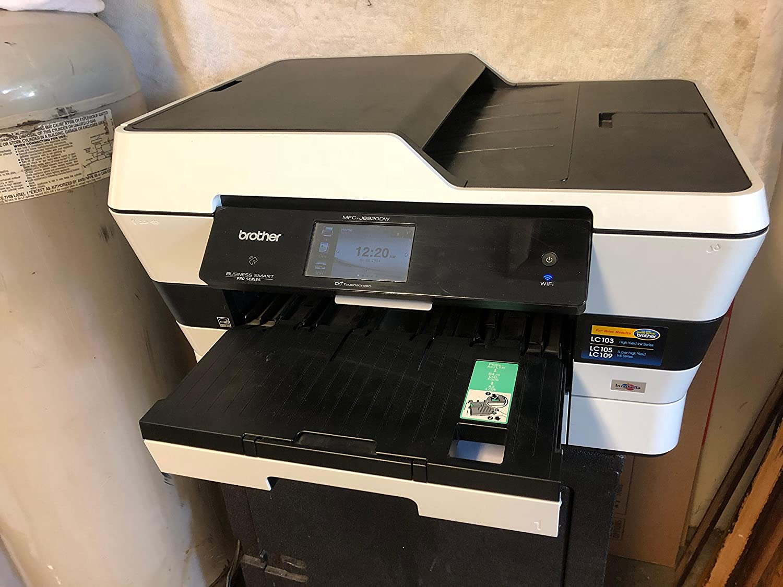 Brother MFCJ6920DW Wireless Multifunction Inkjet Printer