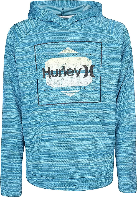Hurley Boys' Long Sleeve Hooded T-Shirt