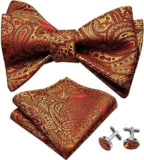 Viesky Mens Velvet Vintage Double Layer Pre-Tied Handmade Bow Tie Glitter Solid Color Tuxedo Big Oversized Adjustable Length Necktie
