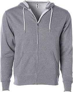 Slim Fit Lightweight Zip Up Hoodie Men and Women Hooded Sweatshirt