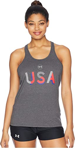 UA Freedom USA Tank Top