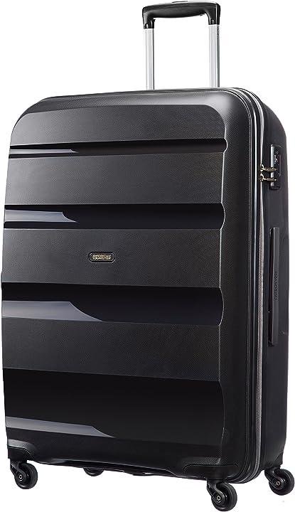 Valigia con combinazione a 3 cifre american tourister bon air spinner l valigia 75 cm 91 l nero black 59424/1041