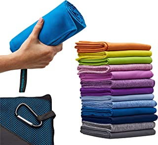 """Microfiber Quick Dry Travel Towel, XL 30×60"""" – Comes With Fast Dry Hand.."""