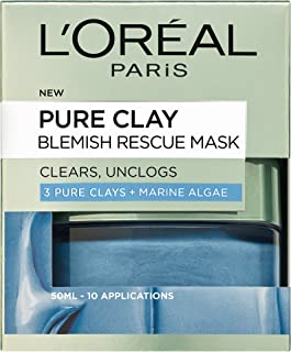 L'Oreal Paris Pure Clay Blemish Rescue Face Mask