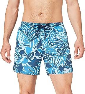 Emporio Armani Swimwear Men's Boxer Safari Resort Swim Trunks
