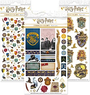 Paper House Productions SET0007 Harry Potter Planner Sticker Bundle includes Weekly Kit Micro Stickers, Enamel Stickers
