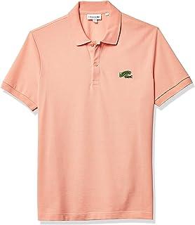 Men's Short Sleeve Croc Animation Regular Fit Polo Shirt