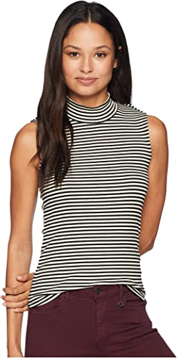 Percy Sleeveless Mock Neck
