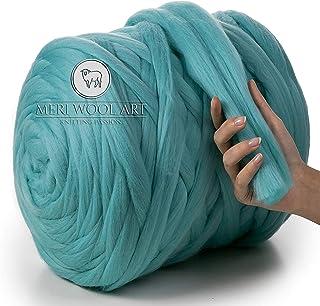 niumanery Icelandic Plush Wool Sweater Chunky Wool Yarn Super Bulky Arm Knitting Wool Roving Knitted Blanket Yarn 50g And 250g 3#