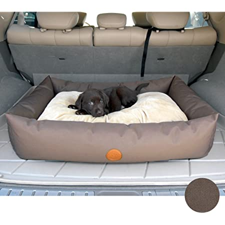 Gray Dog Bed King Pet Products Comfort Cruiser Window Bumper Auto Safety