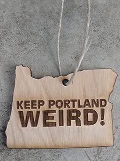 Keep Portland Weird Christmas Ornament