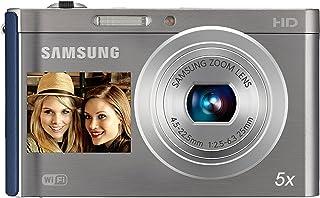Samsung ES DV300F Cámara compacta 16.1MP 1/2.3 CCD 4608 x 3456Pixeles Azul Plata - Cámara Digital (161 MP 4608 x 3456 Pixeles CCD 5X HD Azul Plata)