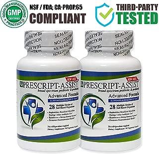 Prescript-Assist Broad Spectrum Soil Based Probiotic and Prebiotic Supplements 90 Capsules X 2 (Pea Protein Added)…