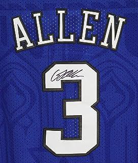 7ad619f585a Grayson Allen Duke Blue Devils Signed Autographed Blue #3 Custom Jersey