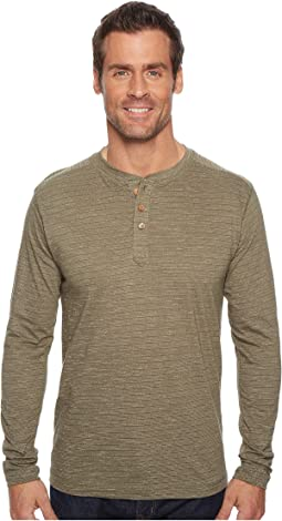 Vintage 1946 Long Sleeve Slub Knit Henley