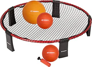 """Triumph Rallyball - Includes Net Target, Two 3.5"""" Balls, One 5"""" Ball, Inflating Pump and Carry Bag"""