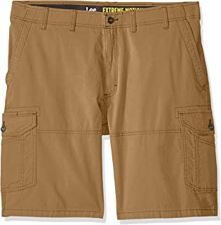 LEE 男式 Big-Tall Extreme Motion Swope 工装短裤