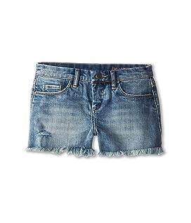 Medium Denim Cut Off Shorts in Flavor Savor (Big Kids)