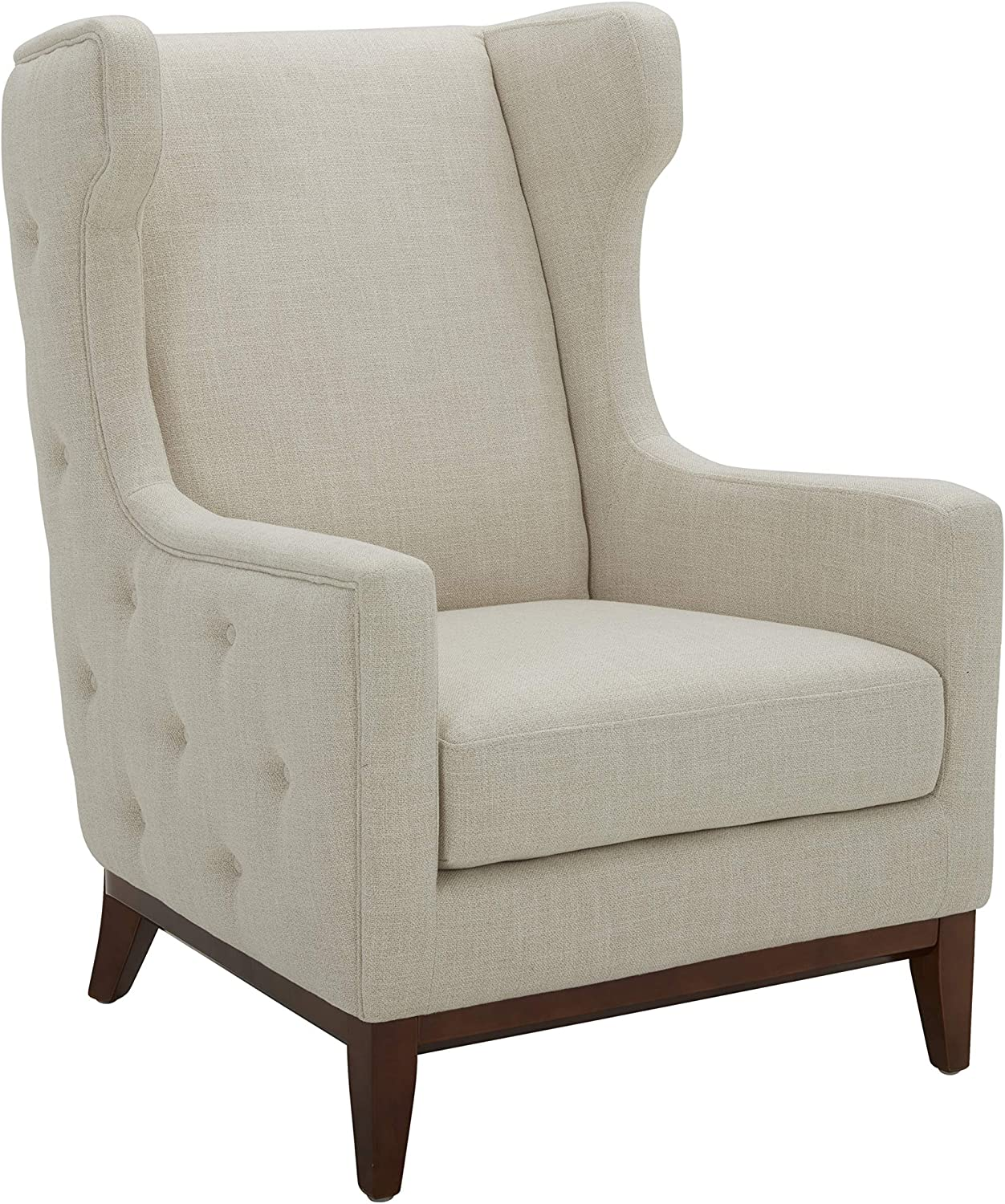 New Shipping Free Columbus Mall Amazon Brand – Stone Beam Upholstered W Rosewood Button-Tufted