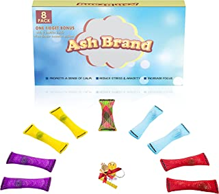 The Ultimate Fidget Toys for ADHD Kids & Adults  Increase Focus, Reduce Anxiety & Relief Stress, Tension and Nerves  E-Book  Speech Therapy Toys & Marble Sensory for ADD OCD & Autism(9 Pack)