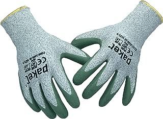 Pakel 5300-30-8 High Performance Non Slip Level 5 Cut Resistant Knit Wrist Gloves, Medium, 8