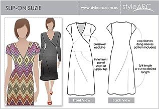 Patrón de costura de Style Arc - Vestido Suzie - Todas las tallas, Sizes 04-16