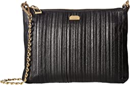 Lodis Accessories - Pleasantly Pleated RFID Emily Clutch Crossbody