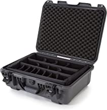 Nanuk 930 Waterproof Hard Case with Padded Dividers - Graphite - Made in Canada