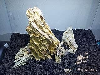 Aqualexs Aquarium Ohko Dragon Stone Rock Mixed Sizes