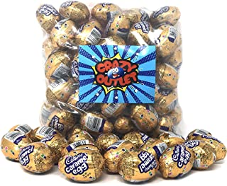 CrazyOutlet Pack - Cadbury Easter Milk Chocolate Caramel Filled Egg, 1.2-Ounce Egg (Pack of 42)