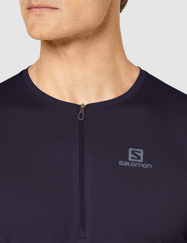 SALOMON Agile Hz SS tee Camiseta Hombre