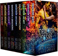 Draekon Desire: A Sci-Fi Dragon Shifter Menage Romance Boxed Set: Exiled to the Prison Planet: The Complete 7 Novel Collec...
