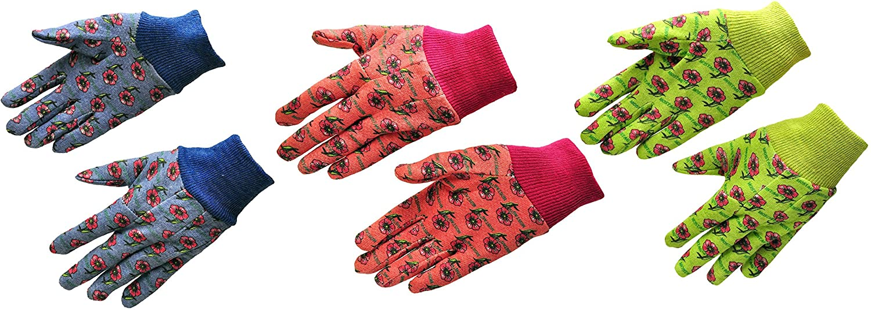 online shopping G Omaha Mall F Products 1823-3 JustForKids Kids Jersey Gloves Soft Garden