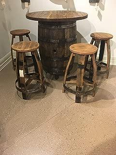 Best bourbon barrel table Reviews