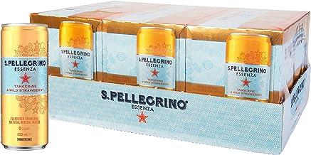 Sanpellegrino Essenza Tangerine & Wild Strawberry, 24 x 330 mL