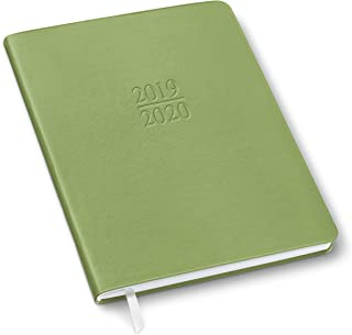 2020 Gallery Leather Family Weekly Planner Camden Kiwi 9