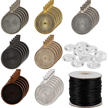 5 Schlüssel Anhänger Rohling 50mm Schlüsselring silber selber basteln machen