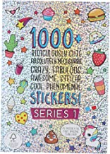 Best Fashion Angels 1000+ Ridiculously Cute Stickers for Kids - Fun Craft Stickers for Scrapbooks, Planners, Gifts and Rewards, 40-Page Sticker Book for Kids Ages 6+ and Up Reviews