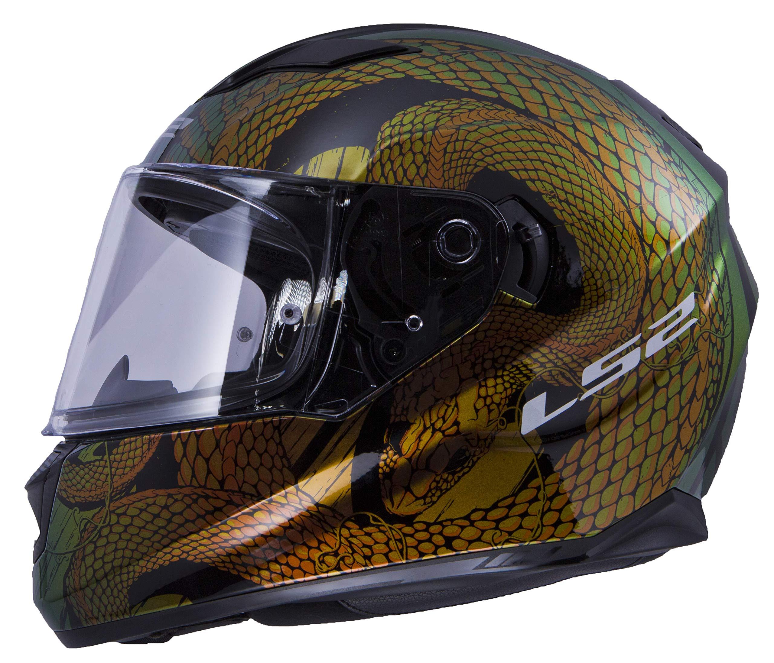 LS2 Helmets Unisex Adults Graphic Chameleon
