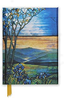 Tiffany Leaded Landscape with Magnolia Tree (Foiled Journal) (Flame Tree Notebooks)